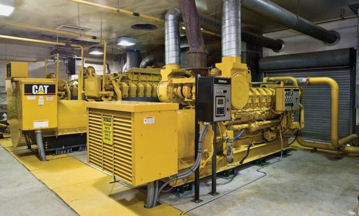 Plynový záložní zdroj Cat® řady G3500