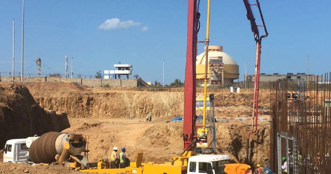 Rusko zahájilo stavbu třetího a čtvrtého bloku v indické elektrárně Kudankulam (zdroj Rosatom).