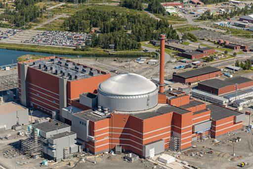 Jaderný blok Olkiluoto 3 s reaktorem EPR by měl být uveden do provozu v roce 2018 (zdroj TVO).