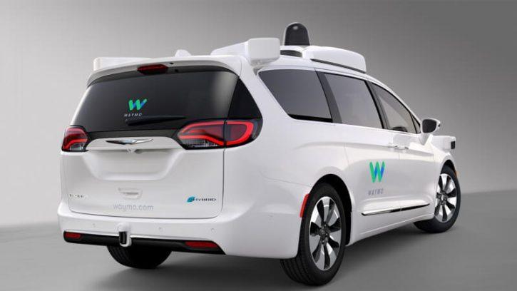 Autonomní vůz Waymo. Zdroj: waymo.com