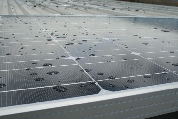 Fotovoltaický panel. Autor: h080
