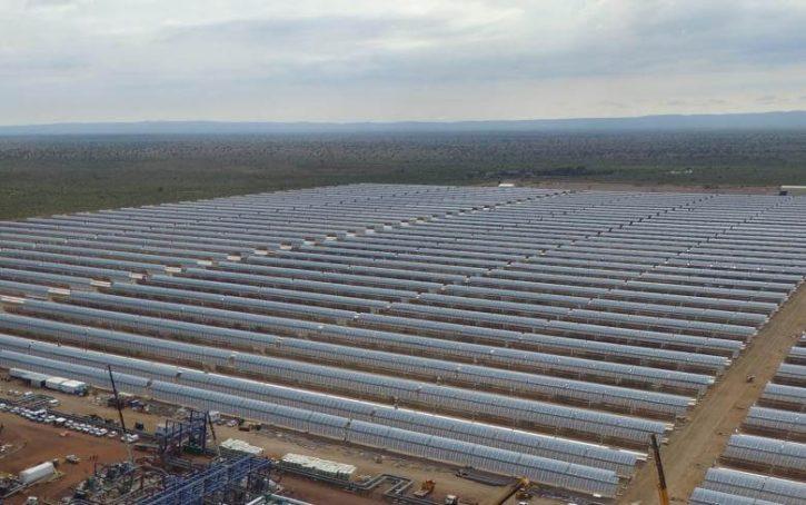 Koncentrační solární elektrárna Kathu. Zdroj: SENER