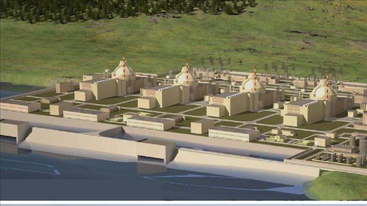 Vizualizace jaderné elektrárny Akkuyu