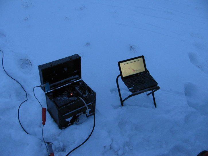 Testování zařízení za nízkých teplot. Autor: ShavPS