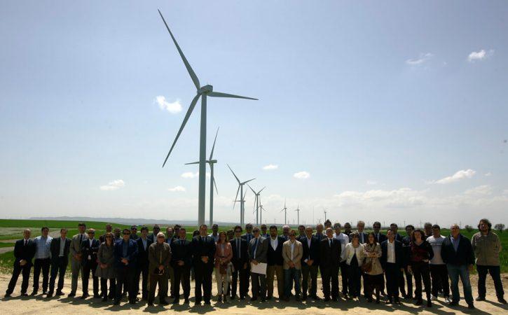 Větrný park Valiente. Zdroj: Grupo Villar Mir