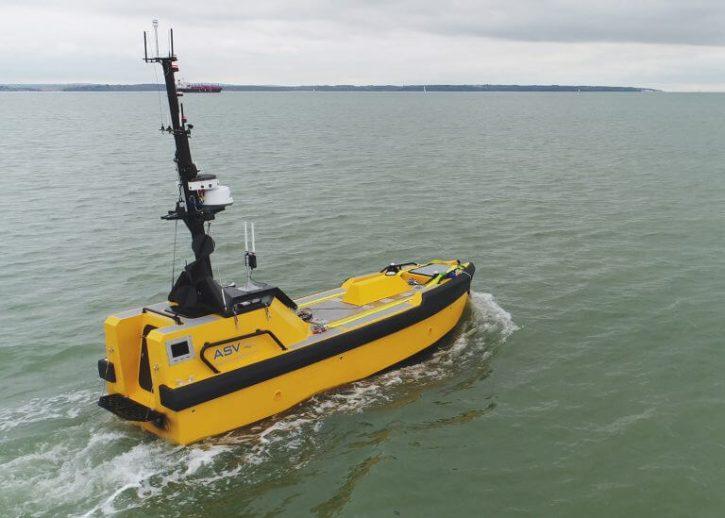 Autonomní plavidlo ASV. Zdroj: ore.catapult.org.uk