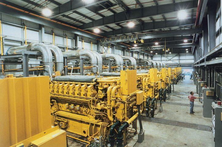 Záložní zdroj proti blackoutu o celkovém výkonu 57 MWe – 10x Cat® 3616