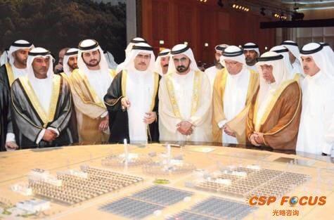 Koncentrační elektrárny jsou pro arabské šejky jednou z variant, jak snižovat závislost na těžbě ropy, Zdroj: CSP Focus