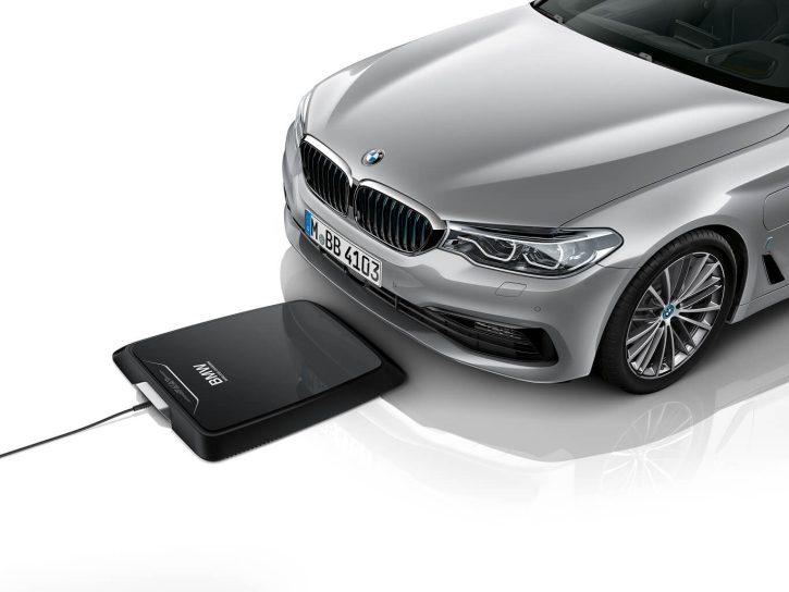 BMW Wireless charging bezdrátové nabíjení