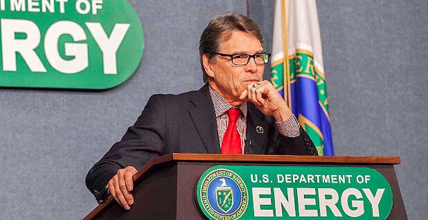 Rick Perry, Ministr energetiky USA. Zdroj: DOE
