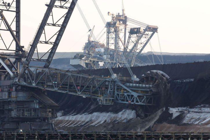 Hnědouhelný lom Garzweiler (Germany) lignite. Zdroj: RWE