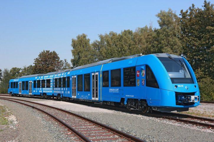 Coradia iLint - vodíkový vlak. Alstom. Zdroj Alstom.com