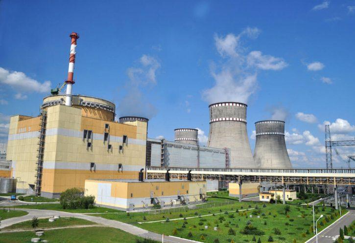 Ukrajinská jaderná elektrárna Rovno. Zdroj: RNPP