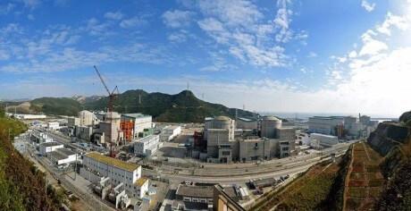 Elektrárna Jang-ťiang, jejíž poslední bloky jsou typu ACPR-1000 (zdroj CGN).
