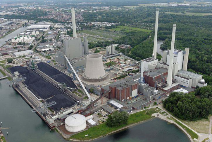 Uhelná elektrárna EnBW Karlsruhe. Zdroj: www.enbw.com