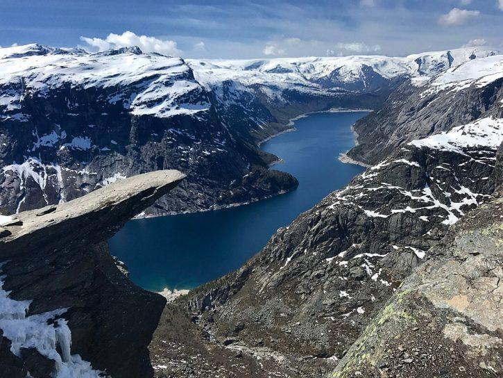 Norsko vodní nádrž