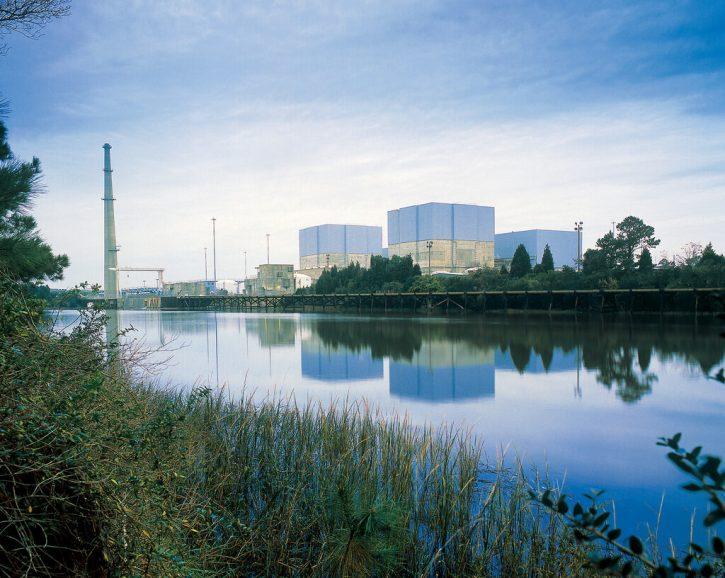 Jaderná elektrárna Brunswick. Autor: Progress Energy