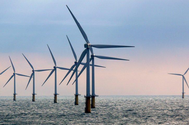 Nizozemsko offshore větrná elektrárna