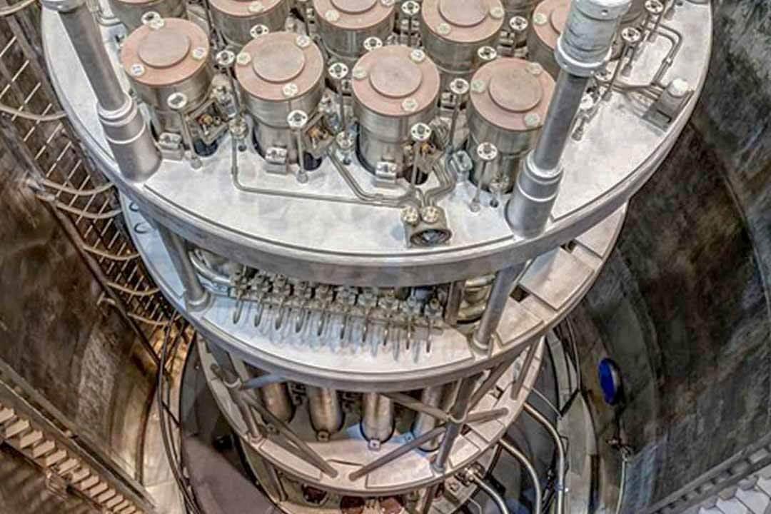 Reaktorová část 4. bloku jaderné elektrárny Mochovce, na technologiích se významně podílí i Škoda JS (zdroj Slovenské elektrárne).