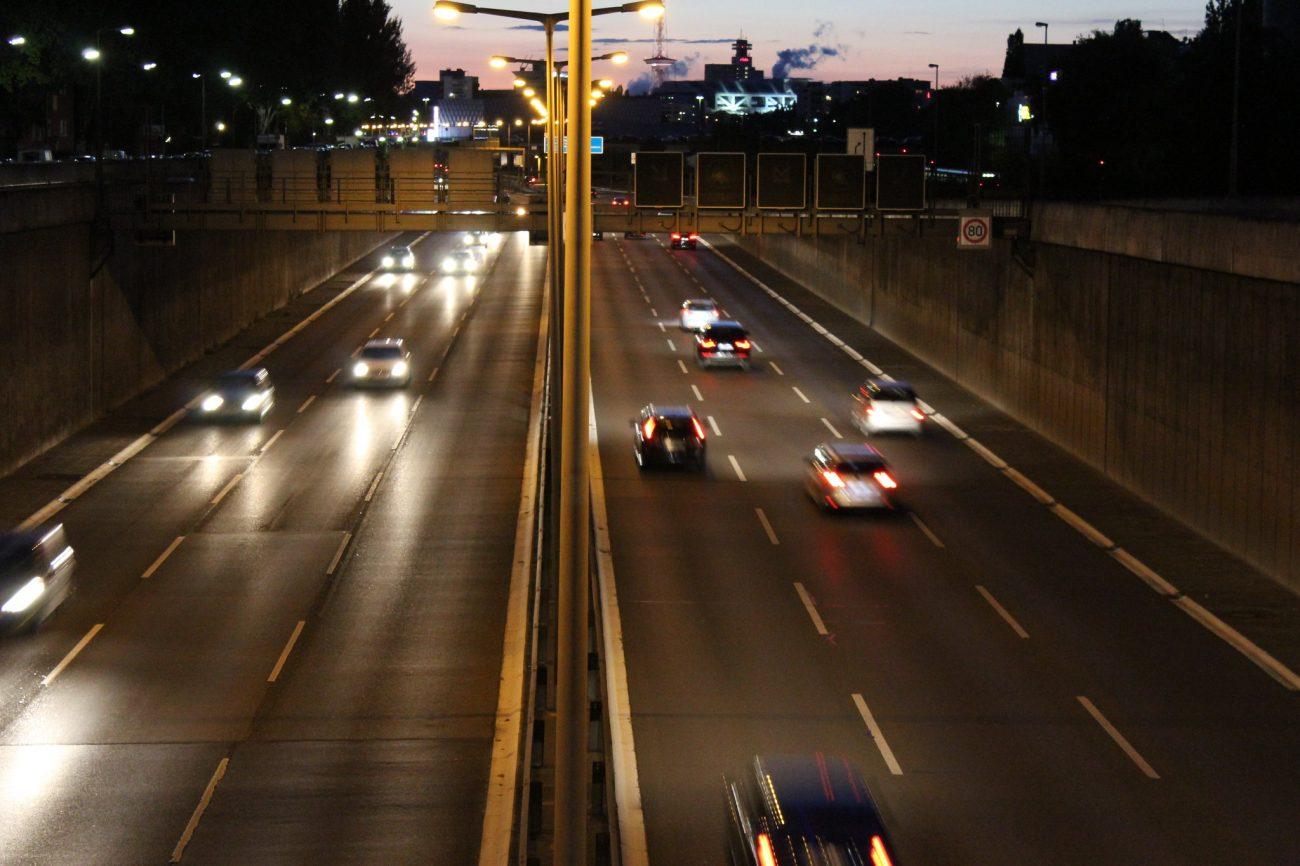 Berlín, Německo doprava, emise. Zdroj: Flickr, Kubilay Yu