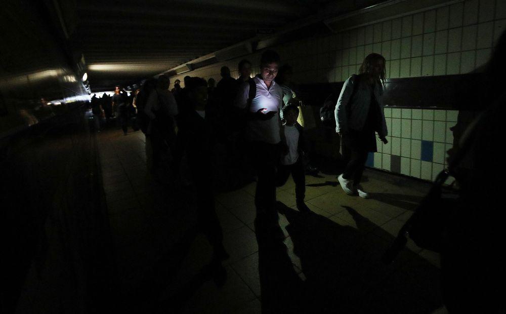 Blackout in London (9th August 2019). Zdroj: Yui Mok, PA Images