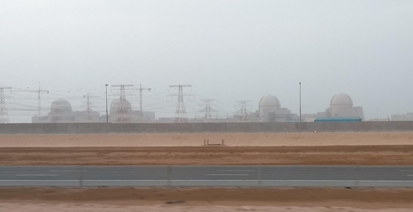 Najde se shoda na realizaci výběru dodavatele nového bloku pro Dukovany? Jedním zmožných kandidátů je korejská firma KEPCO, která dokončuje své bloky ve Spojených arabských emirátech (foto Vladimír Wagner).