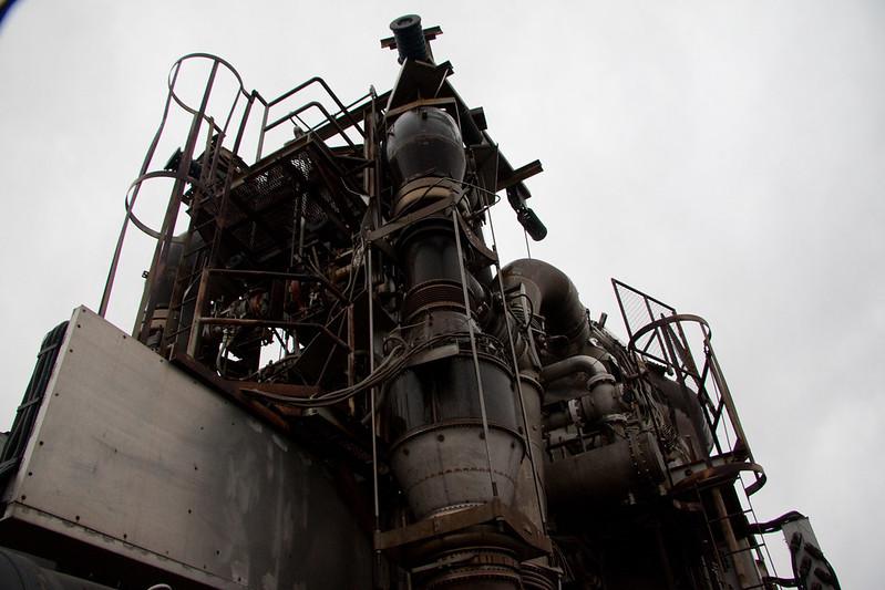 Fotografie projektu Aircraft Reactor Experiment