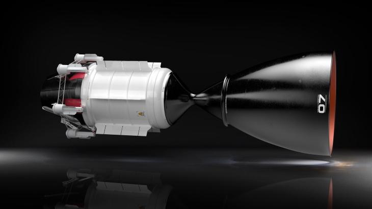 Návrh vesmírného jaderného pohonu společnosti USNC-Tech