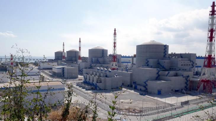 První čtyři bloky jaderné elektrárny Tianwan