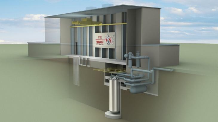 Technologie reaktoru VTR je založena na reaktoru PRISM od společnosti GE Hitachi