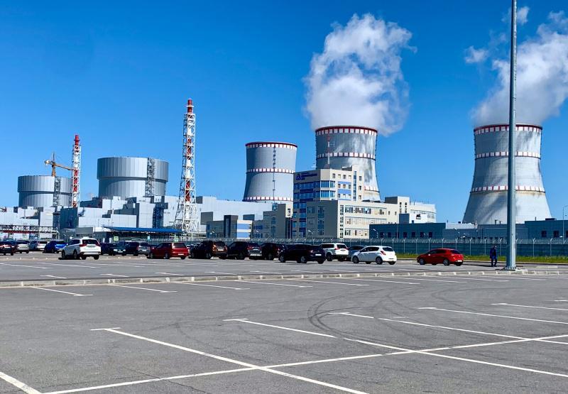 Druhá fáze Leningradské jaderné elektrárny (zdroj Rosenergoatom)