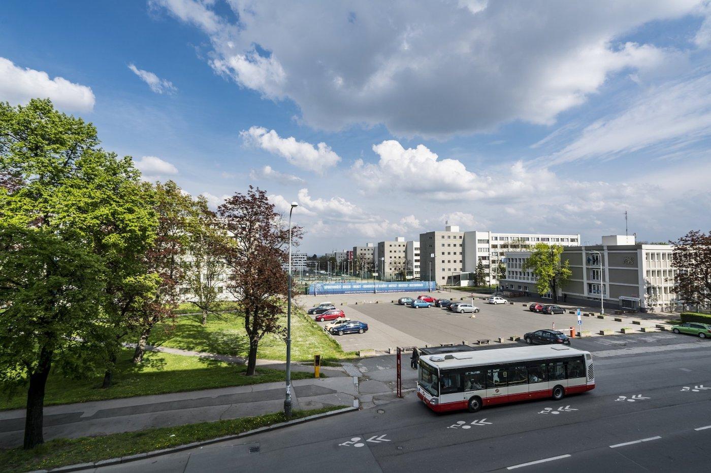 Koleje Strahov, největší koleje v ČR jsou součástí největšího projektu EPC (ČVUT)-1